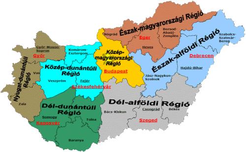 magyarország térkép örkény Hatályos a 2014 2020 as regionális támogatási térkép   Vállalkozó  magyarország térkép örkény